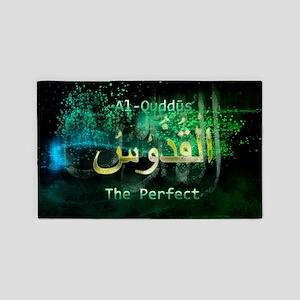 Al-Quddus 3'x5' Area Rug