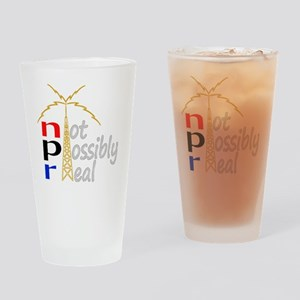 npr national public radio Drinking Glass
