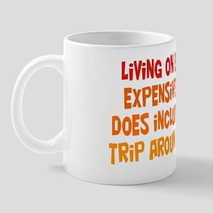 living-on-earth_rect1 Mug