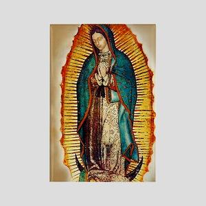 Virgen GuadalupePopCafeKC Rectangle Magnet