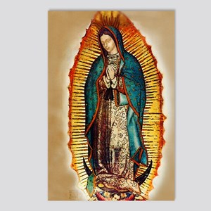 Virgen GuadalupePopCafeKC Postcards (Package of 8)