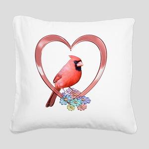 cdheart Square Canvas Pillow