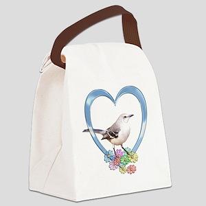 mockheart Canvas Lunch Bag