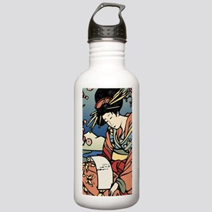 441 Geisha Stainless Water Bottle 1.0L