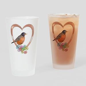 robinheart Drinking Glass