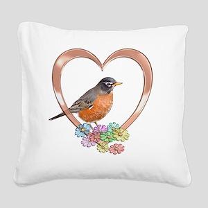 robinheart Square Canvas Pillow