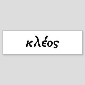 Kleos Bumper Sticker