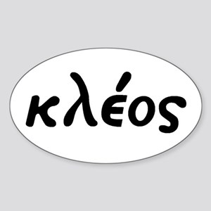 Kleos Oval Sticker
