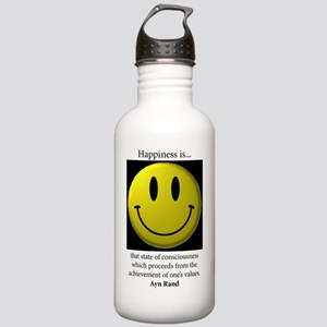 Happiness Stainless Water Bottle 1.0L
