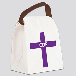 CDF Canvas Lunch Bag