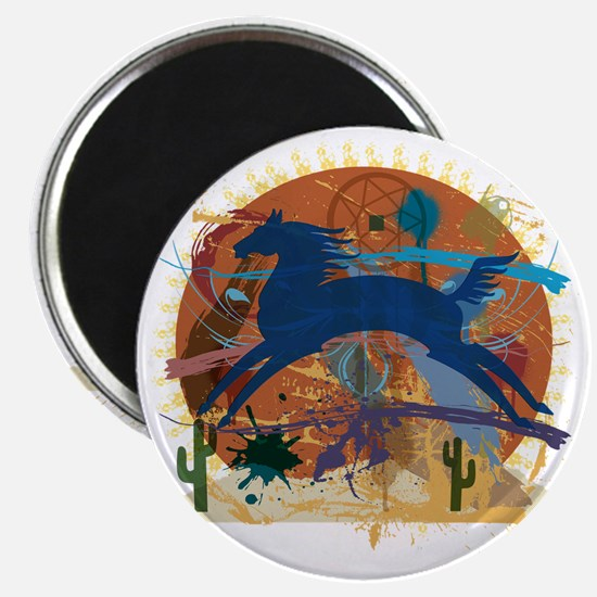 PonyAbstract1 Magnet