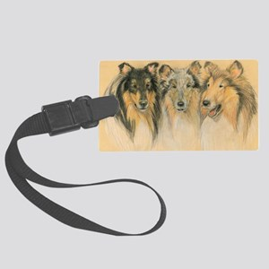 Collie Adults Large Luggage Tag