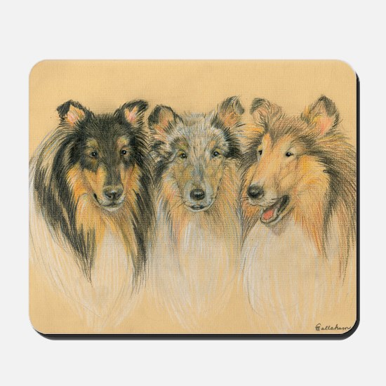 Collie Adults Mousepad