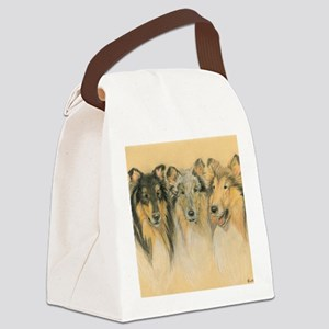 Collie Adults Canvas Lunch Bag