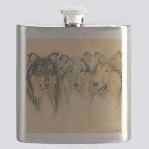 Collie Adults Flask