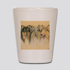 Collie Adults Shot Glass