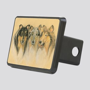 Collie Adults Rectangular Hitch Cover
