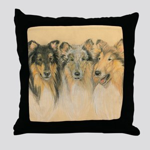 Collie Adults Throw Pillow