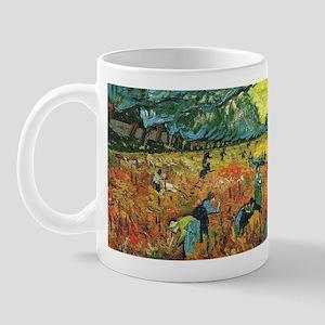 Red Vineyards Wraparound Mug