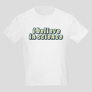 Believe in Science Kids T-Shirt