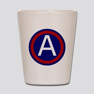3rd Army - Central - USARCENT Shot Glass
