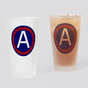 3rd Army - Central - USARCENT Drinking Glass