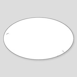 old_xp_black Sticker (Oval)