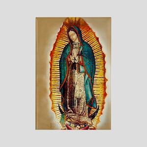 Virgen GuadalupePopZazzlecopy Rectangle Magnet