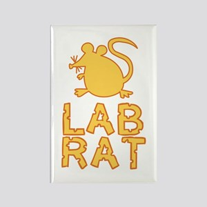 Cheese Lab Rat Rectangle Magnet