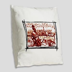 Roman Legionary see his Naval Burlap Throw Pillow