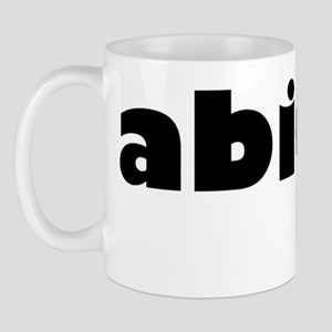 abide black Mug