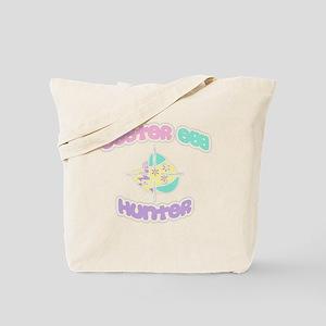 easter egg hunter white Tote Bag