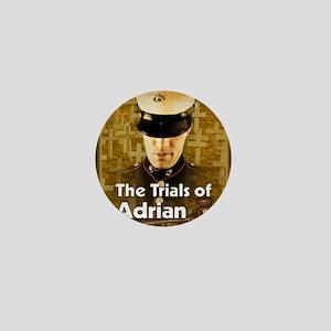 The Trials of Adrian Wheeler notecard Mini Button