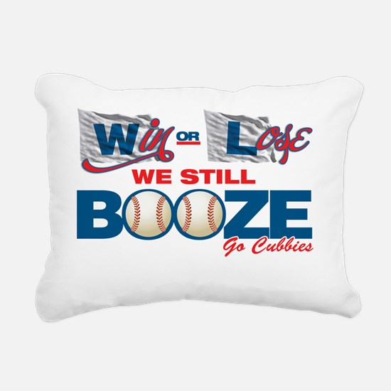 Win or Lose Rectangular Canvas Pillow