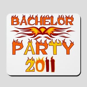 flamesbachparty2011 Mousepad