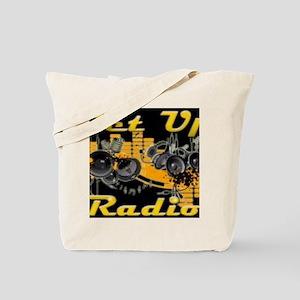 hoodie design skyline for getupradio Tote Bag