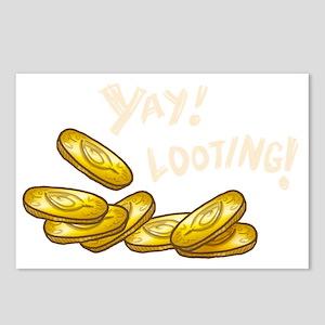 yay_looting_dark Postcards (Package of 8)