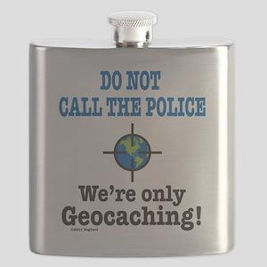Geocach-white Flask
