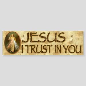 Divine Mercy Bumper Sticker