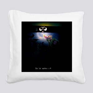 Is It Safe? Square Canvas Pillow