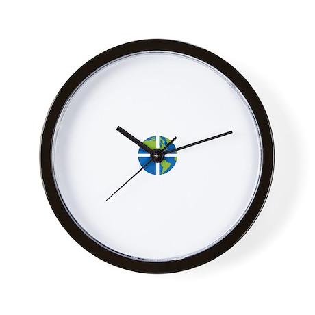 Geocach-dark Wall Clock