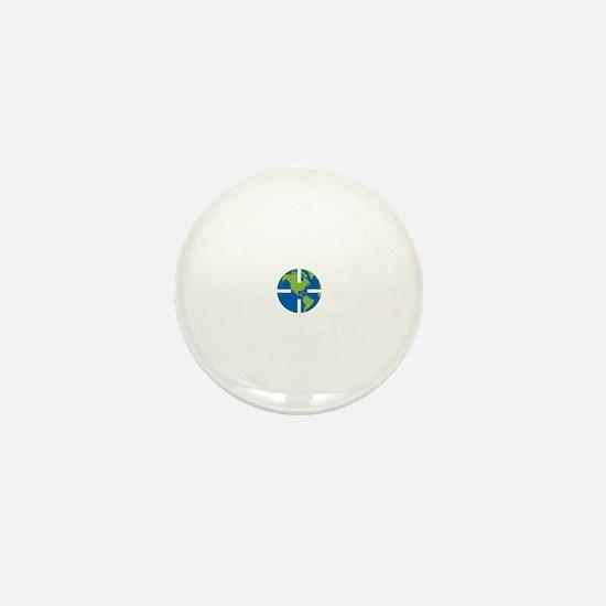 Geocach-dark Mini Button