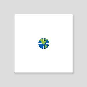 """Geocach-dark Square Sticker 3"""" x 3"""""""