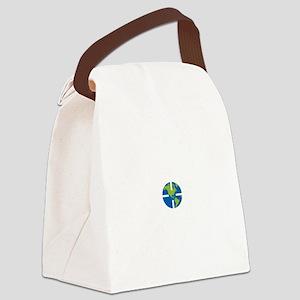 Geocach-dark Canvas Lunch Bag