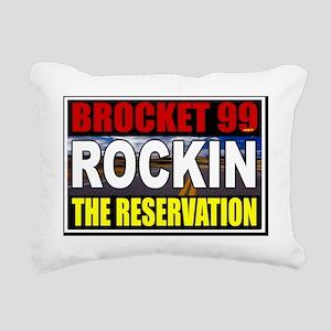 rockinthereservation Rectangular Canvas Pillow