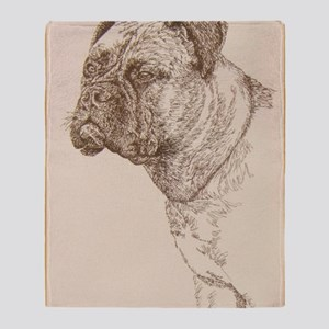 Bullmastiff_Kline Throw Blanket