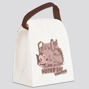 waterski Canvas Lunch Bag