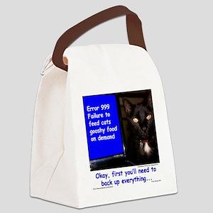 ErrorGooshyFood Canvas Lunch Bag