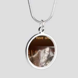 AudreyHaveAnother Silver Round Necklace