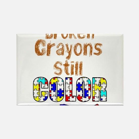BROKEN CRAYONS STILL COLOR Magnets